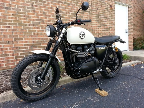 "Motorcycle Headlight Shell 7/"" Black Bullet LSL Style Cafe Racer Honda Triumph"