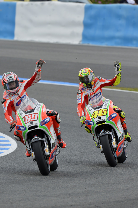 Hayden, Rossi eight and ninth in Spanish Grand Prix   Ducati.net   Ductalk Ducati News   Scoop.it