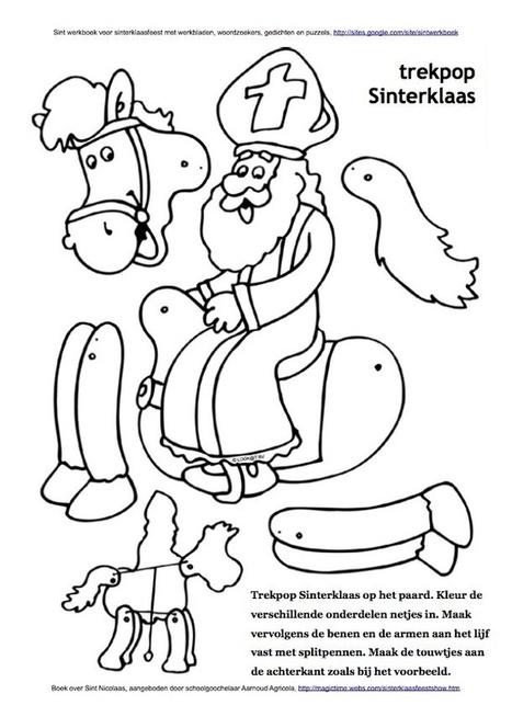 Trekpop Sint Nicolaas op paard Amerigo | Sinterklaasfeest, feest met Sint Nicolaas, Zwarte Piet en goochelaar in voorprogramma | Scoop.it