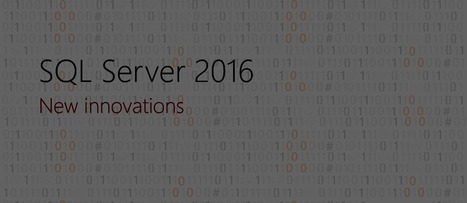 Microsoft Breathes Life into SQL Server On-Prem BI | analytics and sql | Scoop.it