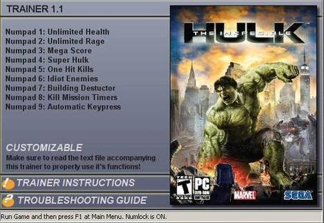 The Incredible Hulk 1.1 Crack