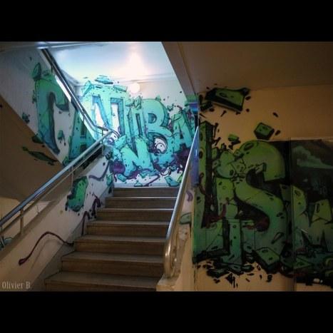 REHAB – Exposition Éphémère de Graffiti #7 | Paris Tonkar magazine | Scoop.it