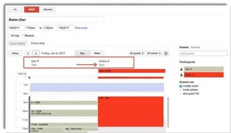 Google Calendar suma nuevas funciones que facilitan programar reuniones desde la web | El rincón de mferna | Scoop.it