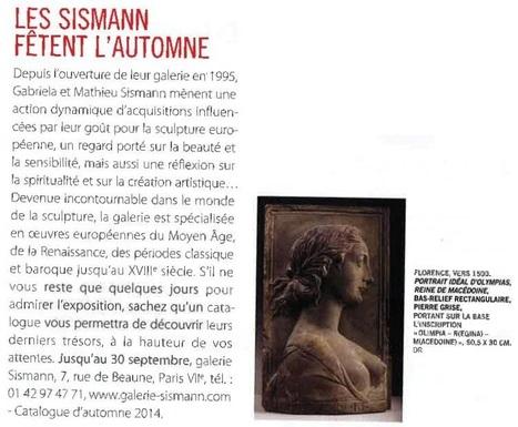 d7b177a9963689 Le goût Sismann - La Gazette Drouot (26 sept. 2014)