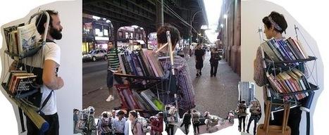 Le bibliothécaire nomade et pacifiste arpente les rues de New York | Bibliothèque et Techno | Scoop.it