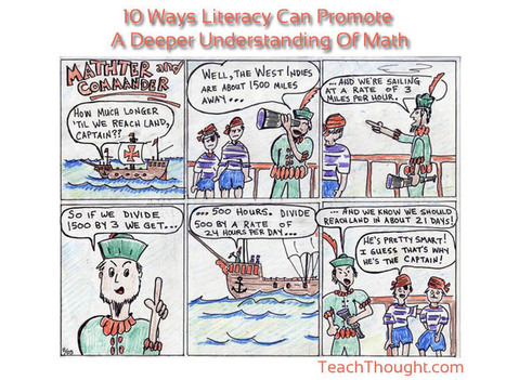10 Ways Literacy Can Promote A Deeper Understanding Of Math   ELA Common Core Standards (CCSS)   Scoop.it