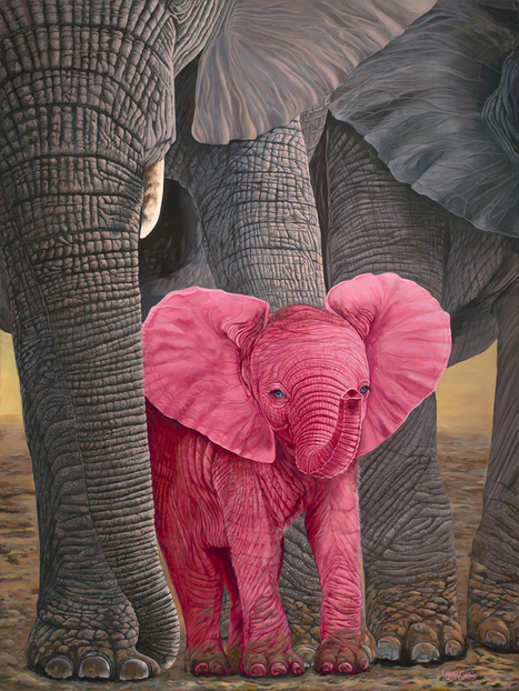 """New Painting """"Surprise"""" 