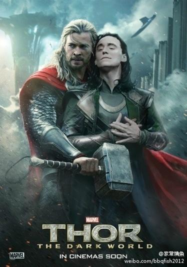#Gag #Thor 2 : l'affiche version gay dans un cinéma de Shanghai | digistrat | Scoop.it