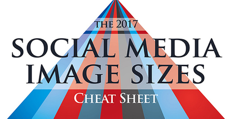 The 2017 Social Media Image Size Cheat Sheet [Infographic] - Red Website Design Blog | World of #SEO, #SMM, #ContentMarketing, #DigitalMarketing | Scoop.it