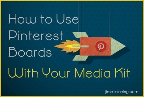 How To Use Pinterest to Complement Your Media Kit | Pinterest | Scoop.it