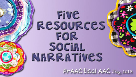 5 Resources for Social Narratives   AAC: Augmentative and Alternative Communication   Scoop.it