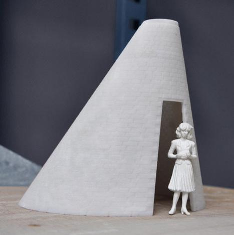 Building Bytes 3D printed bricks by Brian Peters at Dutch Design Week | FabLabRo | Scoop.it