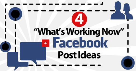 """4 """"What's Working NOW"""" Facebook Post Ideas   Blogging, Social Media & Tools   Scoop.it"""