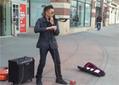 Epic Violin Street Musician - Video | Conceptual Art Network | Scoop.it
