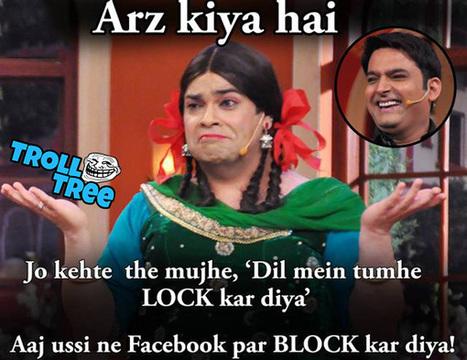Most Funniest Troll In Comedy Nights Trolltree Trolltree Funny Punjabi Hindi Trolls
