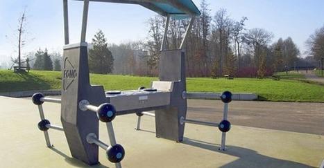 FONO : des platines en béton installées dans les parcs | Ressources en médiation numérique | Scoop.it
