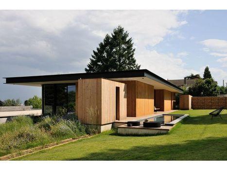 maison en bois zen