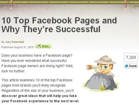 Weird But Effective Content Marketing: Best Facebook Pages   WEBOLUTION!   Scoop.it