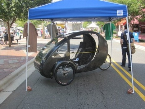 Three-Wheeled ELF Can Be Plugged In, Pedaled or Solar-Powered | Autopia | Wired.com | leapmind | Scoop.it