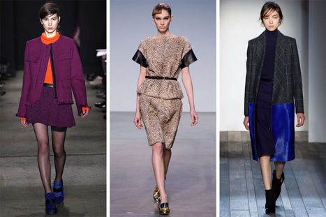 Fall 2013's Most Wearable Fashion Trends | Vintage Fashionista | Scoop.it