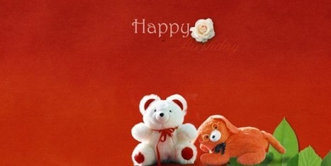 Birthday front page psd album backgrounds free