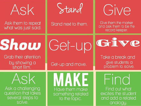 27 Ways To Respond When Students Don't Pay Attention | K-5 Teacher | Scoop.it