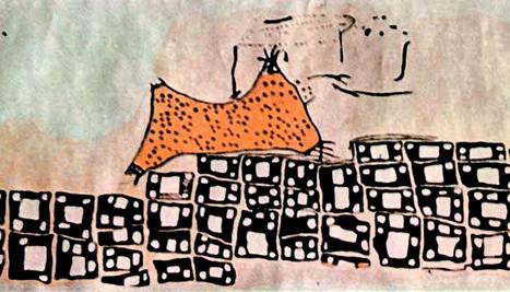 Peinture néolithique de Çatal Höyük : volcan ou peau de léopard ? | Merveilles - Marvels | Scoop.it