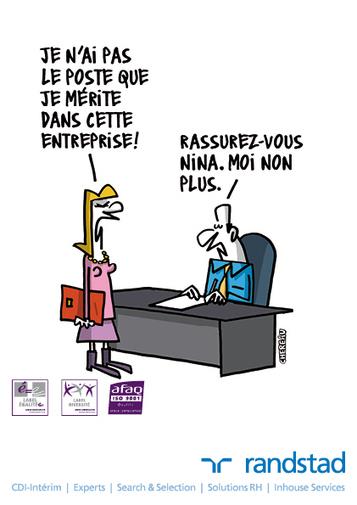 L'égalité professionnelle Hommes Femmes en 12 dessins (via Altaïde) | L'égalité professionnelle | Scoop.it