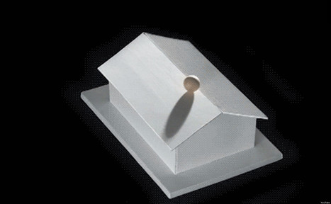 Impossible 2D Drawings Made Possible... In 3D | The brain and illusions | Scoop.it