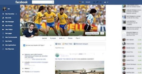 Facebook: changez le design du site avec Facebook Flat | Social Network & Digital Marketing | Scoop.it