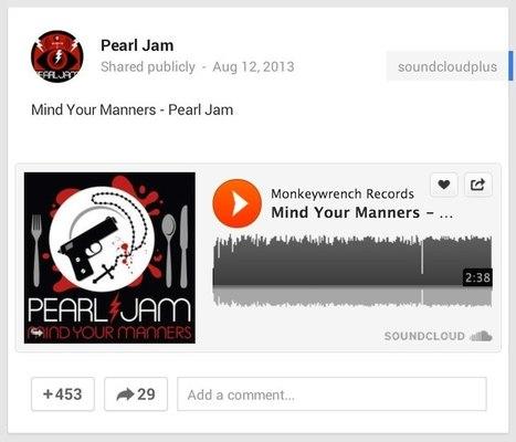 SoundCloud, le YouTube du son s'intègre à Google+ | Going social | Scoop.it