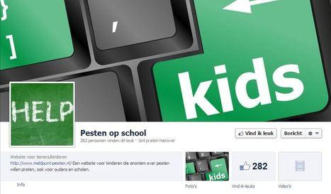 Facebook pagina Pesten op school voor tieners/ kinderen | onderwijsideeën op het web | Scoop.it