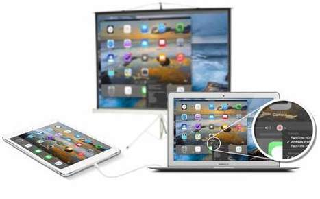 How to record or present your iPad screen without wifi - Douchy's Blog | iPad:  mobile Living, Learning, Lurking, Working, Writing, Reading ... | Scoop.it