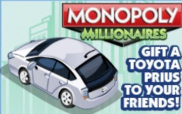Toyota Parks Prius on EA's Facebook Monopoly Game   Connected Creativity   Scoop.it