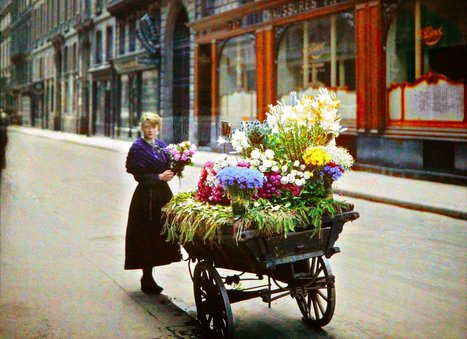 Photos extrêmement rares de Paris en couleurs au début des années 1900 | GenealoNet | Scoop.it