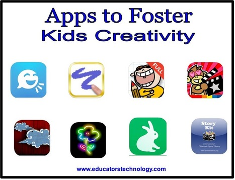 10 iPad Apps to Foster Kids Creativity   Teaching Tools Today   Scoop.it