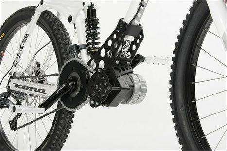自転車に取り付けるだけで時速70kmで走行可能になる電動アシストモーターキット「Ego-Kits」のフォト&ムービー - GIGAZINE   Active Commuting   Scoop.it