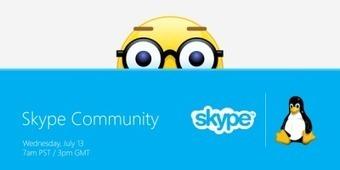 Du nouveau pour Skype sous Linux ? | Actualités de l'open source | Scoop.it
