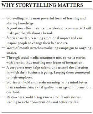 Tall Tales: The strength of storytelling | Stories - an experience for your audience - | Scoop.it