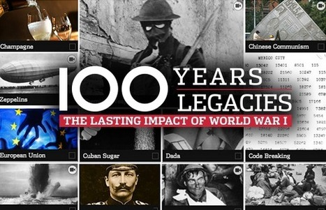 World War I Centenary: 100 Legacies of the Great War | CLIL-DNL History | Scoop.it