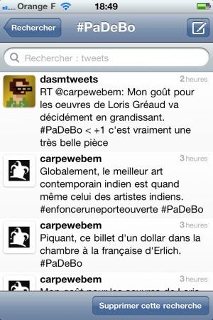 Réflexions sur le principe du livetweetd'exposition   Social media for Museums   Scoop.it