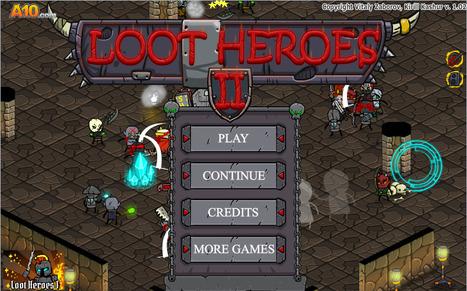 Loot Heroes 2 - hacked unblocked games 500 | io