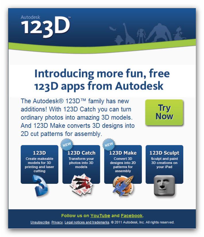 Autodesk 123D - Get Creative | Machinimania | Scoop.it