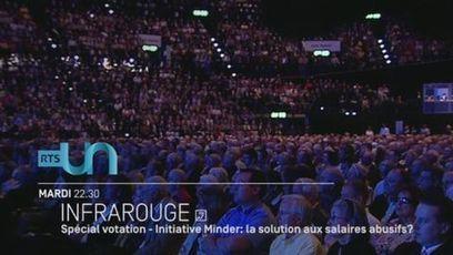 Spécial votation - Initiative Minder: la solution aux salaires abusifs? - rts.ch - Infrarouge - Forums | The Pirate Scoop Tribune | Scoop.it