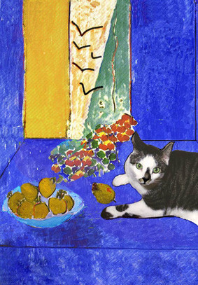 3 Matisse Cat Paintings the Artist Never Made | Cat Art | Scoop.it