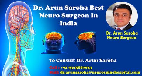 Best Neurosurgeon in India | Dr  Arun Saroha |