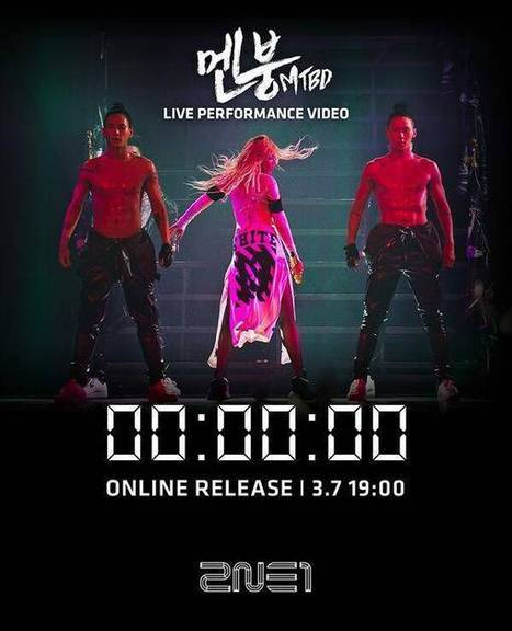 2NE1 to release a live performance video for 'Mental Breakdown (MTBD)' | allkpop.com | Japanese and Korean Entertainment | Scoop.it