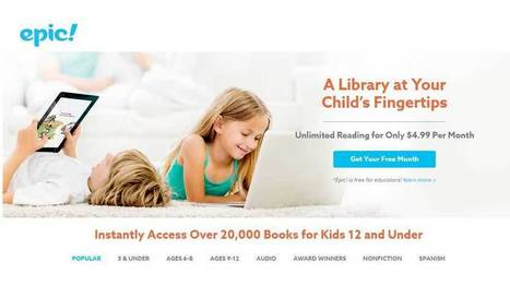 Epic! Explore Unlimited Books for Kids! | EdTechReview | Scoop.it
