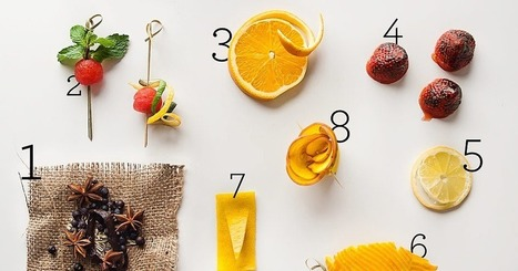 The Art of the Cocktail Garnish | From the Bar | Scoop.it