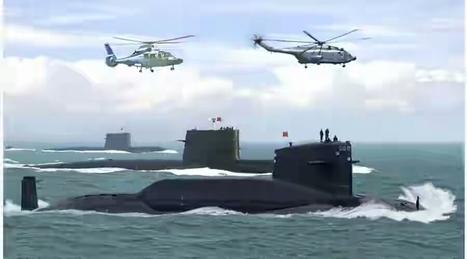 La Chine met en alerte ses submersibles nucléaires   ACTUALITÉ   Scoop.it